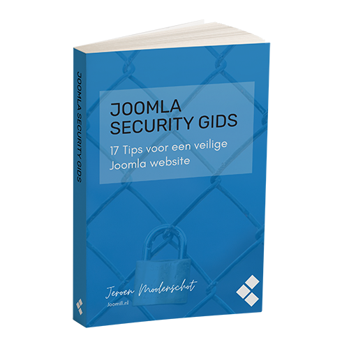 Joomla Security Gids cover